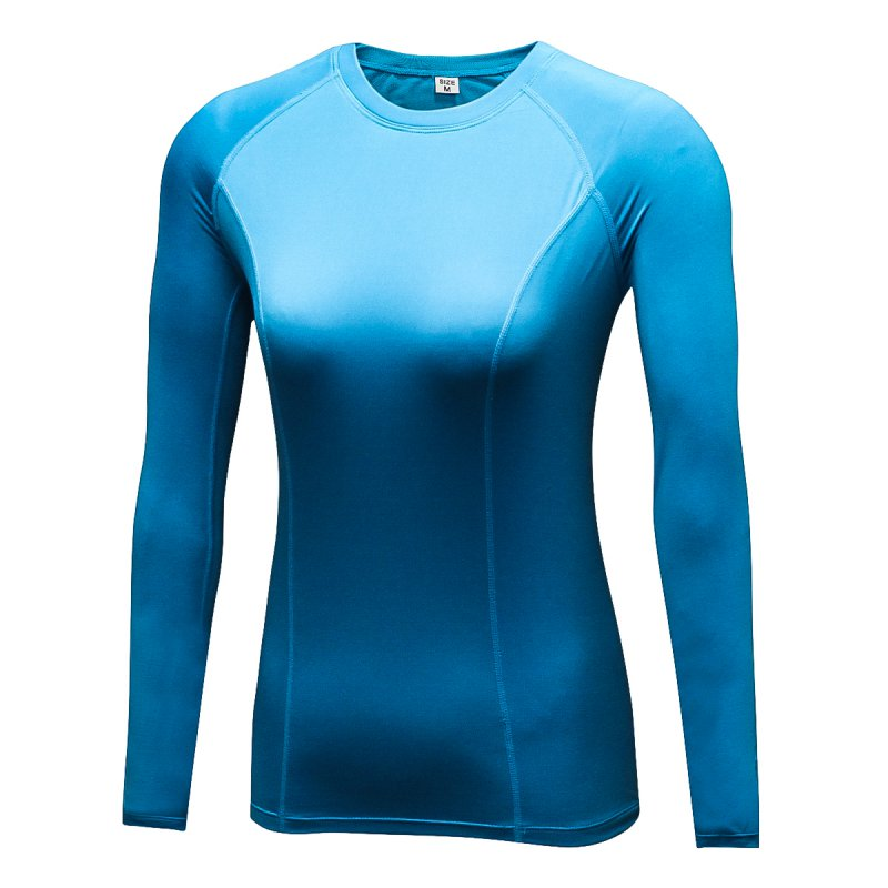 Fast-Dry-Women-Long-Sleeve-Compression-Skin-Tight-Base-Layer-Shirt-Cycling-Top