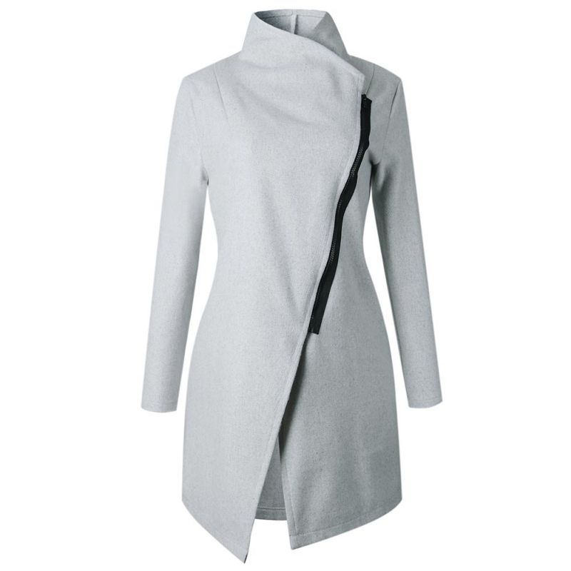 Ladies-Solid-Color-Winter-Warmer-Wool-Blends-Coat-Wide-Lapel-Trench-Outwear-Tops