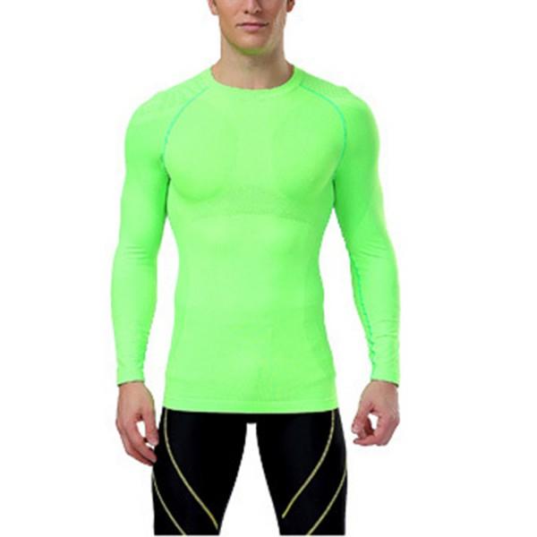 Mens Sport Compression Tights Base Layer Under Long Pants Vest T-Shirts Gym Tops