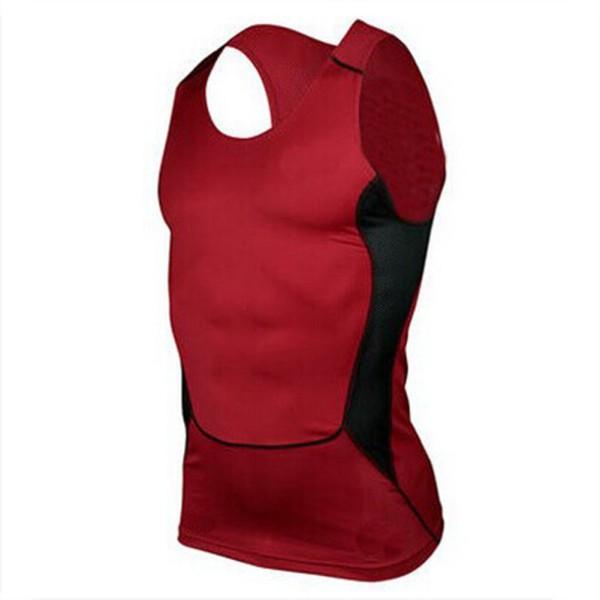 Men male sport compression wear under shirt skin body for Best shirt to wear under ballistic vest