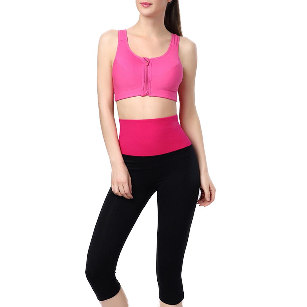 Women's YOGA Running Pants High Waist Shorts Slim Sport