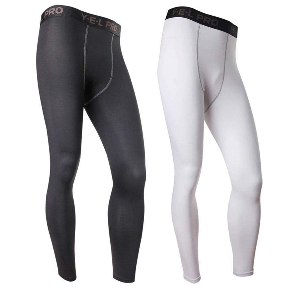 24a071055b66e Image is loading Men-Sports-Fitness-Tight-Compression-Base-Layer-Pants-
