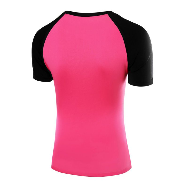 Quick dry sports shirt women gym fitness yoga running Yoga shirts with sleeves