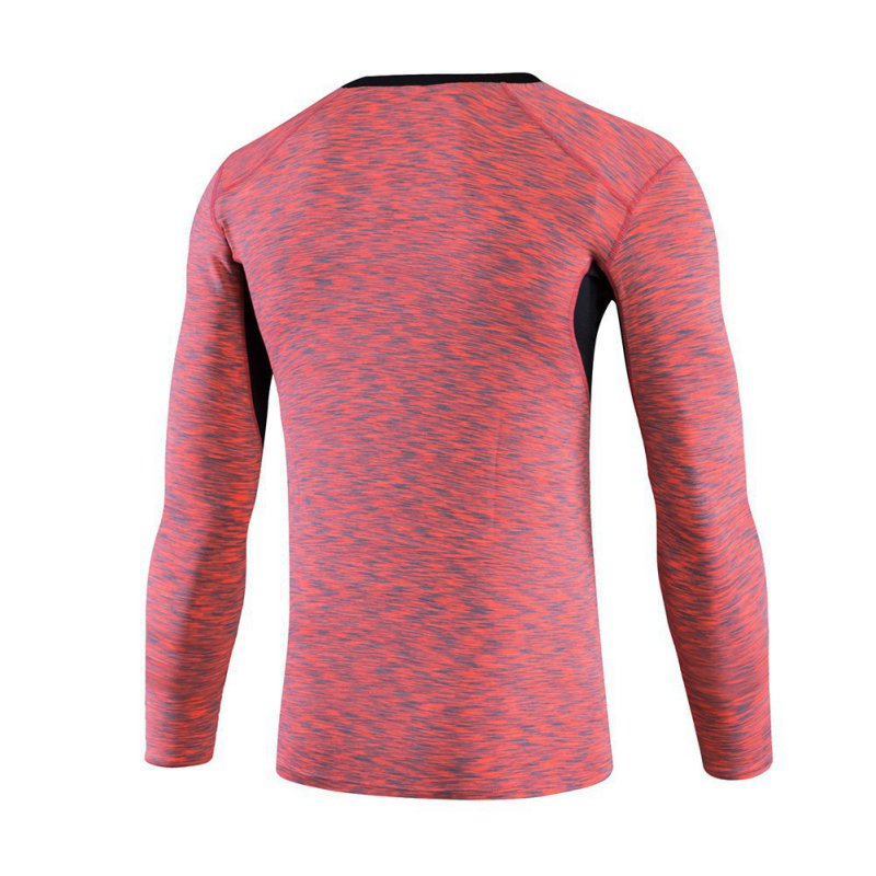 Compression Mens Long Sleeves Top Shirt Base Layer Sport