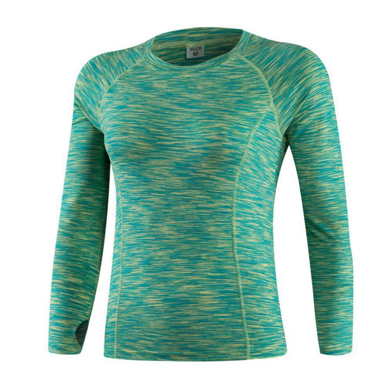 Womens ladies sports base layer dry fit top thermal gym for Womens base layer shirt