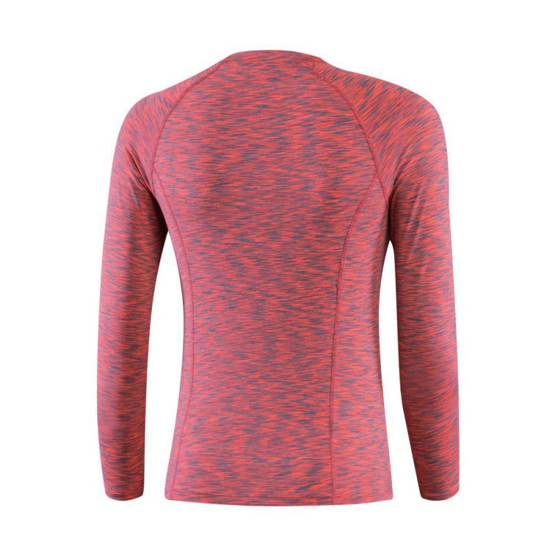 Lady womens base layer long sleeve compression dry fit for Womens base layer shirt