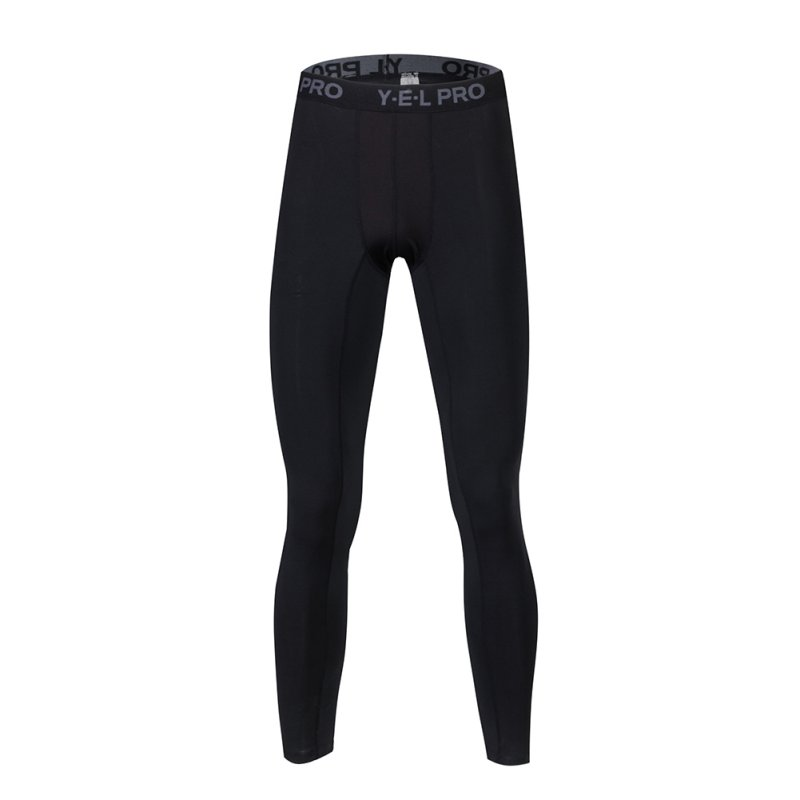 ab755421e0 US Men Sports Running Compression Pants Gym Workout Base Layers ...