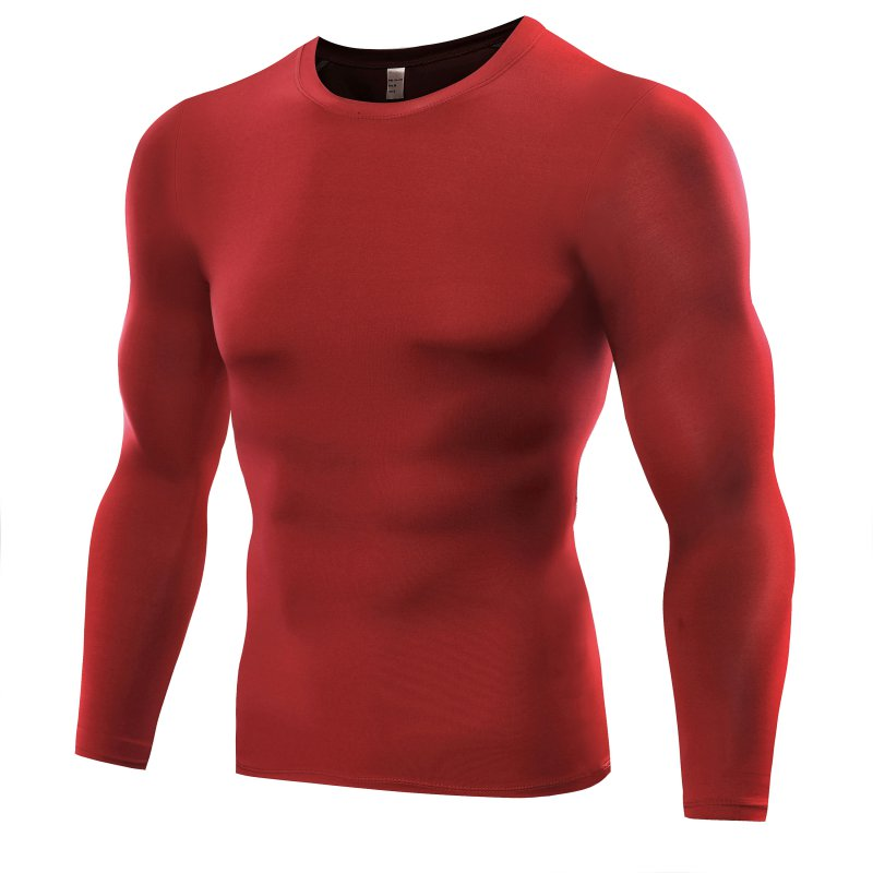 Men 39 S Long Sleeve Tights Sports T Shirts Hot Compression