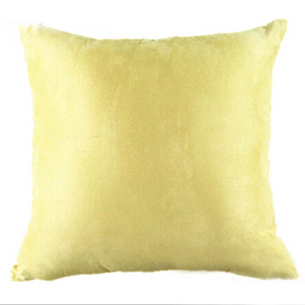 pure color sofa throw home decor cushion cover pillow case