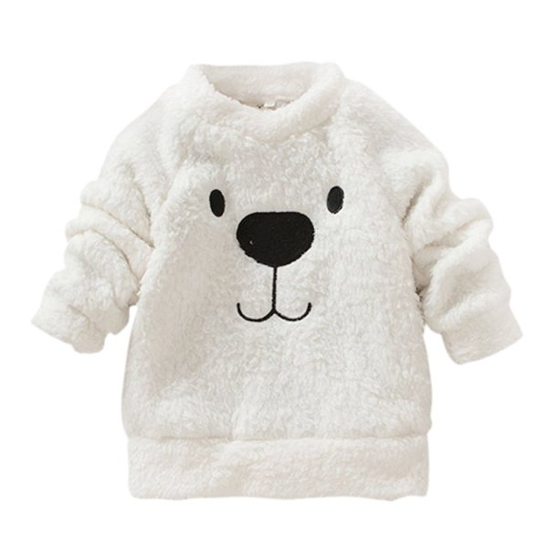 new winter baby kid clothing bear furry coat thick wool. Black Bedroom Furniture Sets. Home Design Ideas