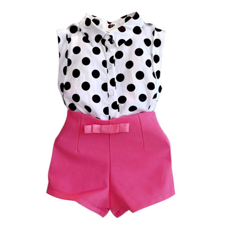 Summer Toddler Kids Baby Girl Clothes T-shirt Tops Shorts Pants ...