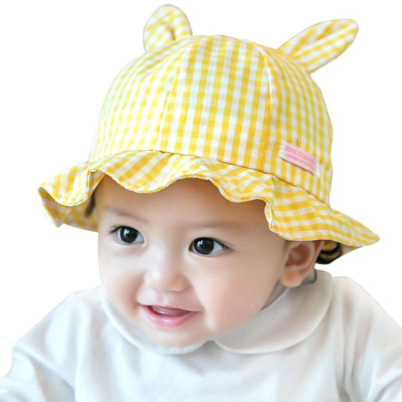 5e0c53b8762 Toddler Infant Sun Cap Summer Outdoor Baby Girls Boys Sun Beach Cotton Hat  Cute