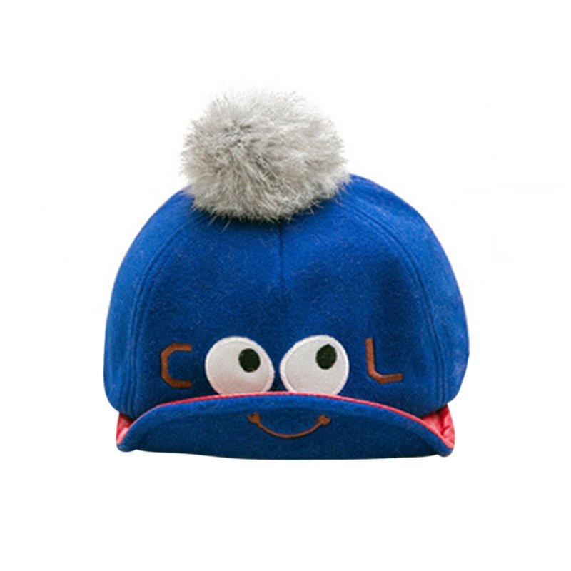 baby infant boy woolen baseball hats cap