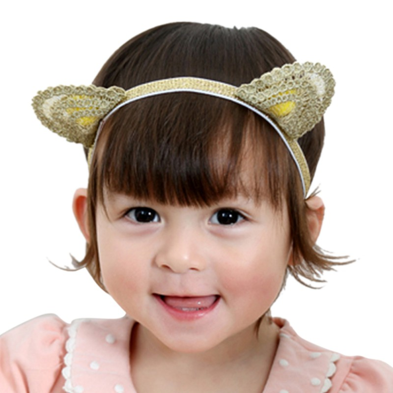 BAOBAO Women Girl Cat Fox Long Fur Ears Headband Party Cosplay Costume Hairband.