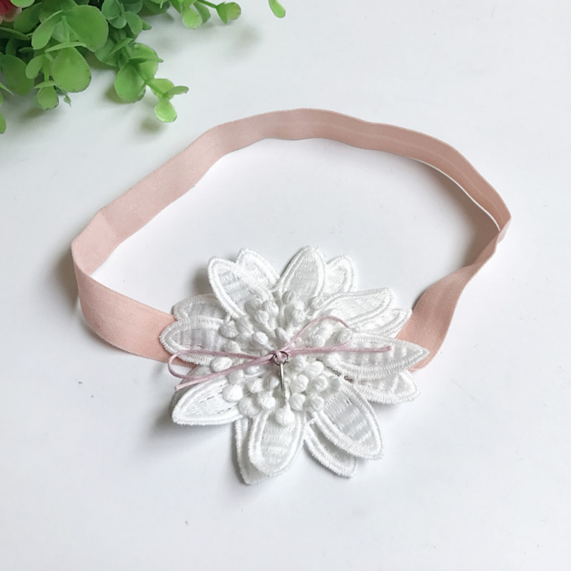 Kids-Girl-Baby-Headband-Toddler-Lace-Bowknot-Flower-Soft-Hair-Band-Accessories