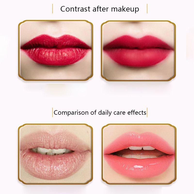 Pink-Lip-Mask-Anti-Ageing-Moisturise-Lip-Membrane-Care-Moisturizing-Exfoliating thumbnail 6