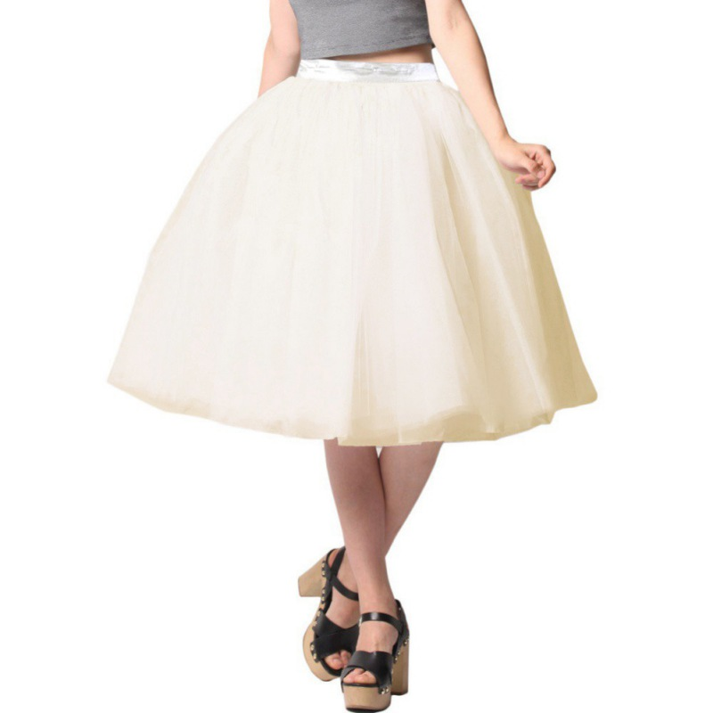 Stylish Womens Ballet Tulle Tutu Skirt Prom Ball Gown Wedding Party Mini Dresses