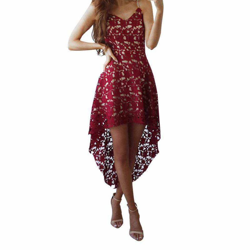 Trendy Women's Lace Dress Prom Evening Party Cocktail