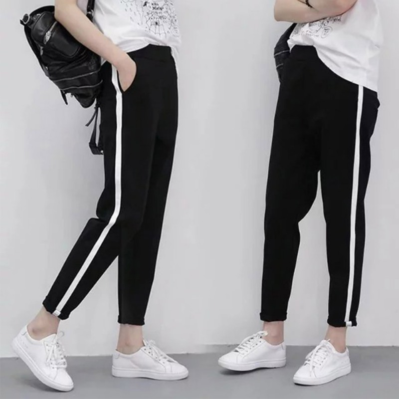 women sports sweat loose pants harem dance training baggy jogging trousers m xl ebay. Black Bedroom Furniture Sets. Home Design Ideas