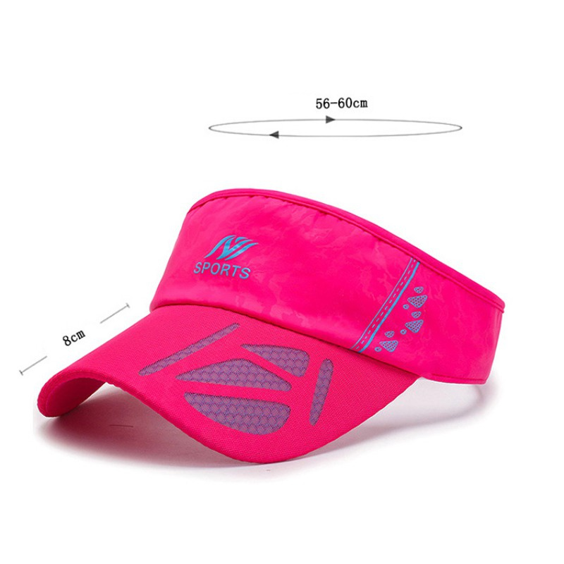 3a7588375b8d08 Season:Spring,summer,autumn. Suitable for:tennis,golf,running,camping,hiking ,outdoor sports. Top Type:Empty top. Style:Visors Cap circumference:56cm