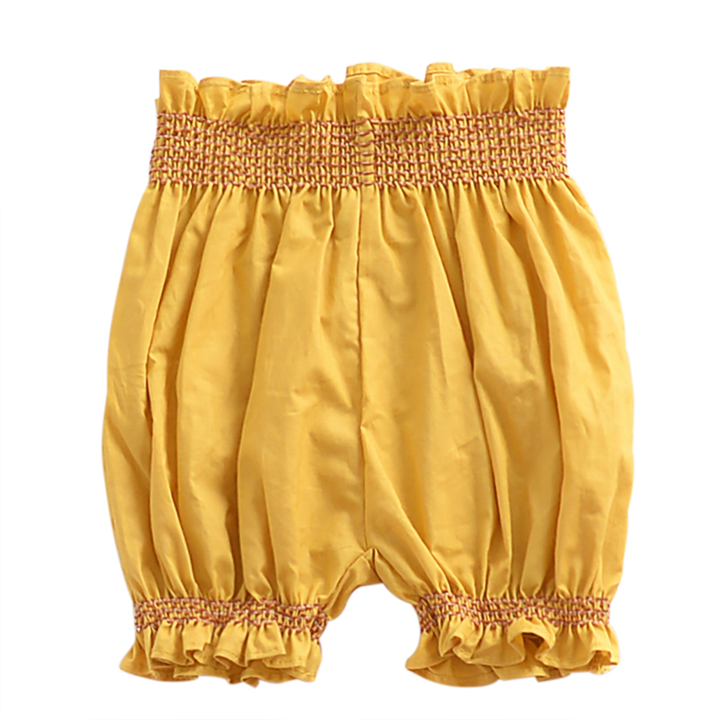 Baby-Girls-Summer-Bread-Pants-Floral-Lantern-Shorts-Toddler-Soft-Bread-PP-Pants