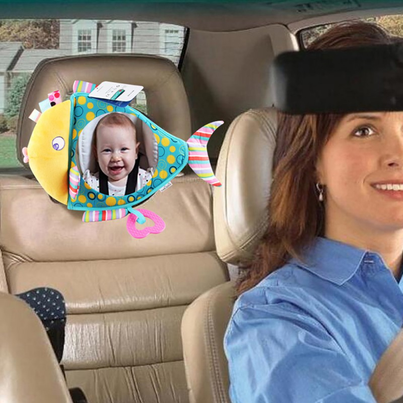 US-Adjustable-Rear-Baby-Kid-Safety-Car-Seat-Back-Mirror-Headrest-Clear-Wide-View
