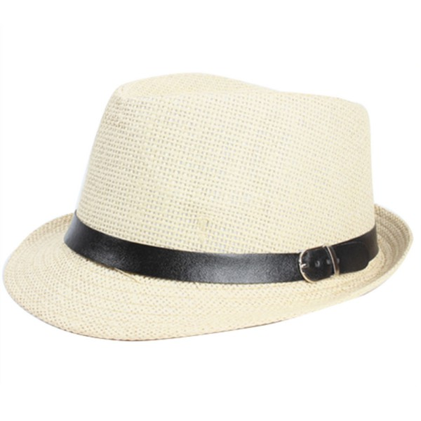 braid fedora trilby gangster cap summer