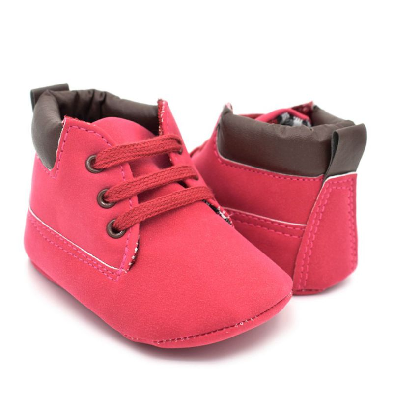 baby toddler boys ankle boots crib shoes slip on