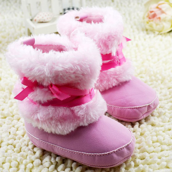 Newborn Girls Shoes Size 0 Baby Snow Boots Infant Toddler Boy Girl