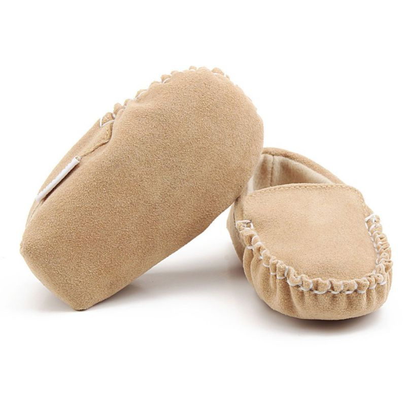 infant baby casual soft sole crib leather shoes