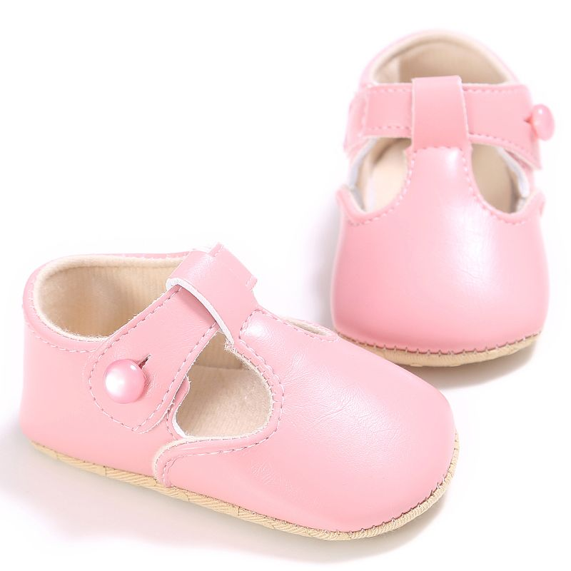 baby boys soft pu leather shoes toddle infant anti