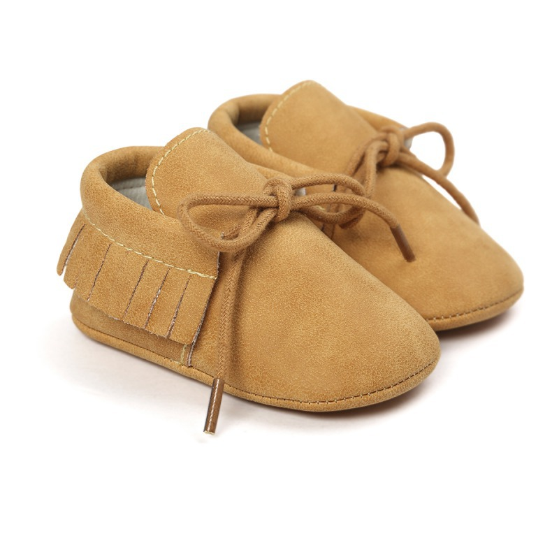 Baby Tassel Soft Sole Shoes Infant Boy Girl Toddler
