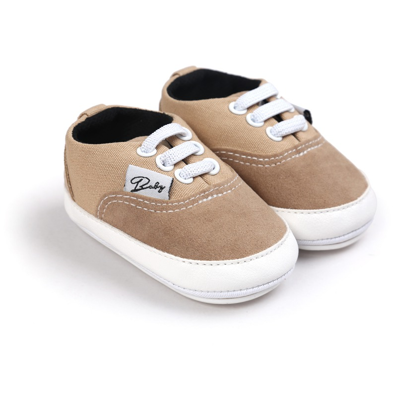 infant baby boy soft sole canvas sneakers infant crib