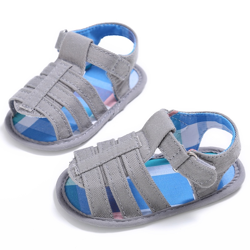 Baby Infant Kids Girl Boy Soft Sole Crib Sandals Toddler ...