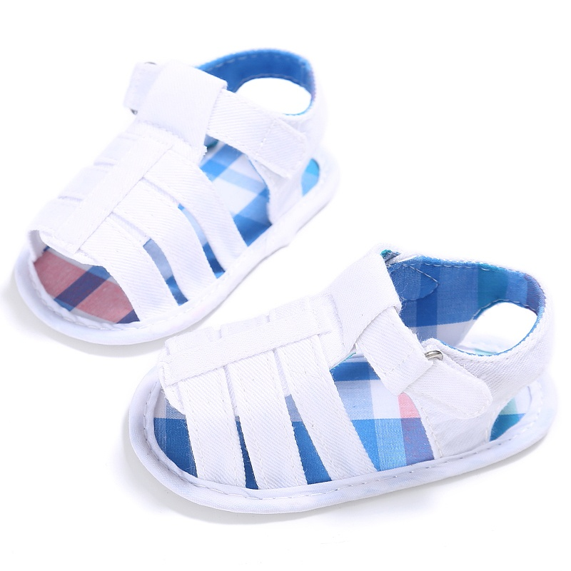 Baby Infant Kids Girl Boy Soft Sole Crib Sandals Toddler