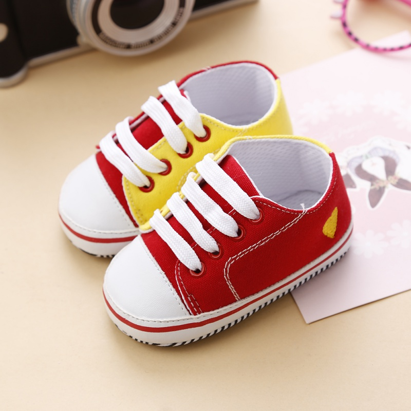 Cute New Infant Toddler Baby Boy Girl Kids Soft Sole Shoes