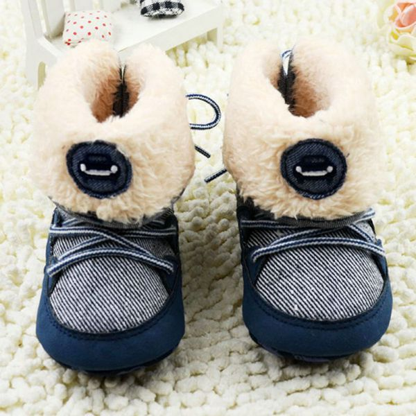 Infant-Baby-Boys-Soft-Sole-Booties-Snow-Boots-