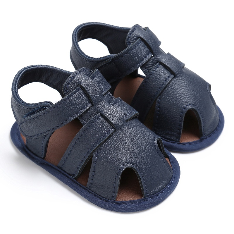 0 18m toddler baby boys sandals soft soled pu leather