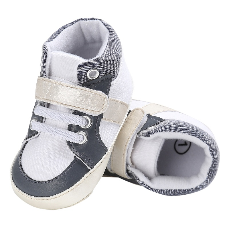 Newborn Infant Cute Toddler Sneakers Baby Boy Ankle Soft
