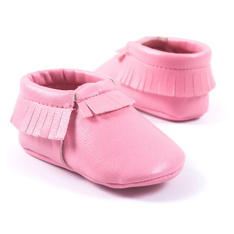 Baby Toddler Leather Shoes Boy Girl Infant Moccasin Soft ...