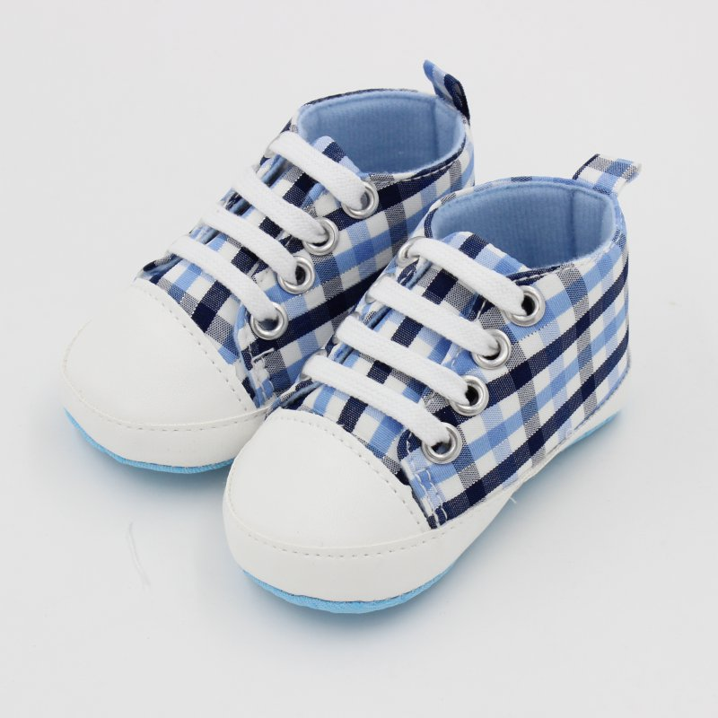 Toddler Baby Boys Girls Soft Sole Crib Shoes Infant