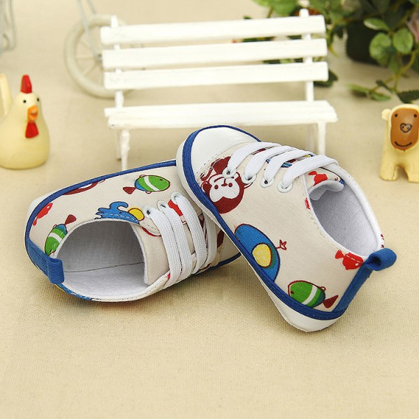 boy girl tassel soft baby sole leather shoes infant toddler