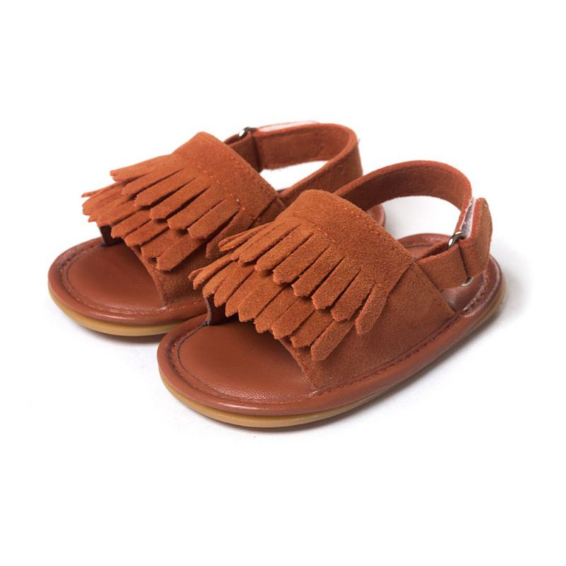 Baby Tassel Soft Sole Shoes