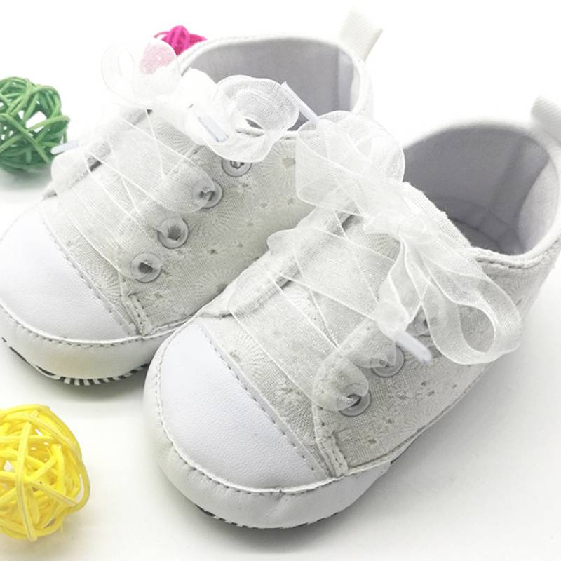 Infant Toddler Baby Boy Girl Soft Sole Crib Shoes Sneakers