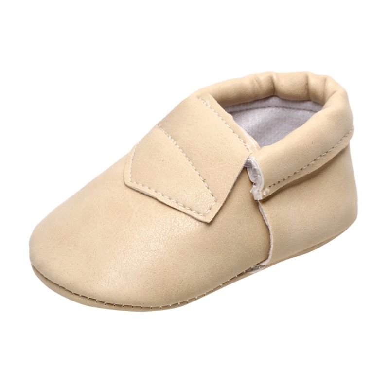 Infant Baby Soft Sole Crib Shoes Leather Baby Shoes Candy