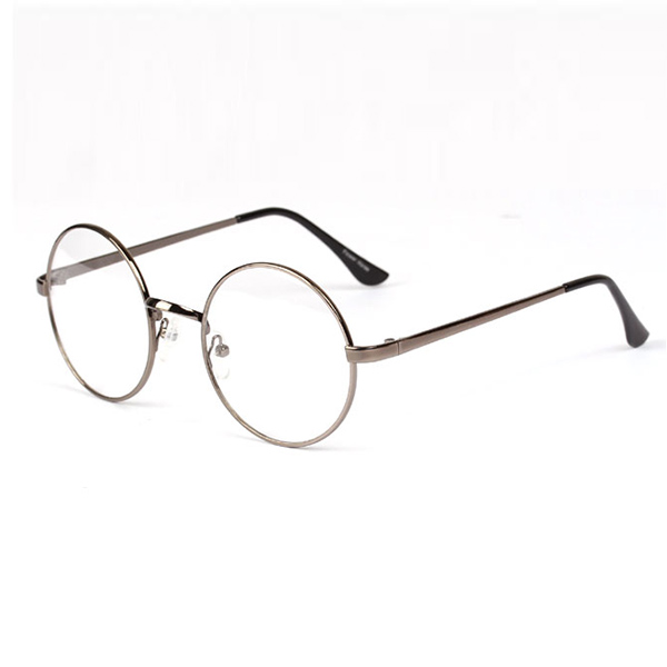 Wire Frame Glasses In Style : Fashion Unisex Retro Round Circle Metal Frame Eyeglasses ...