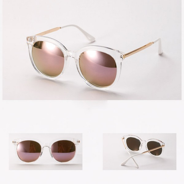 Round Shades Sunglasses  retro womens vintage shades oversized round frame sunglasses