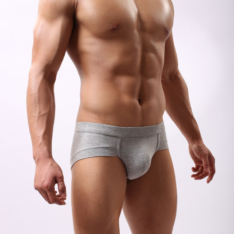 Mens trunk underwear offer the same fit as a boxer brief but have a more square design with shorter legs. The short leg lengths of mens trunks make them a great underwear choice when wearing relaxed or even fitted pants.