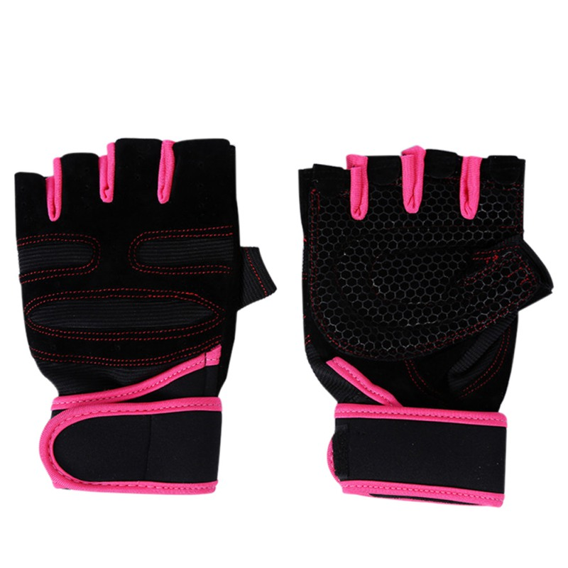 Women Work Out Gloves Weight Lifting Gym Sport Exercise: Men Workout Exercise Gym Training Fitness Gloves Sports