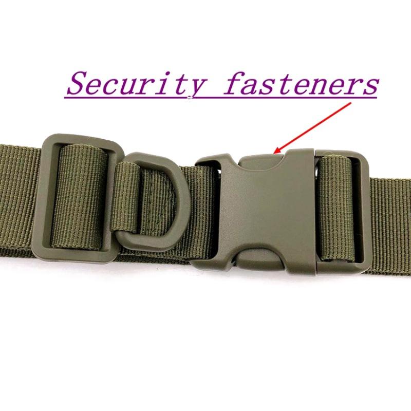1Pcs Men Waistband Tactical Rigger Belt Military Train Heavy Duty Quick Release